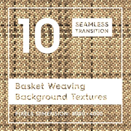 Basket Weaving Background Textures