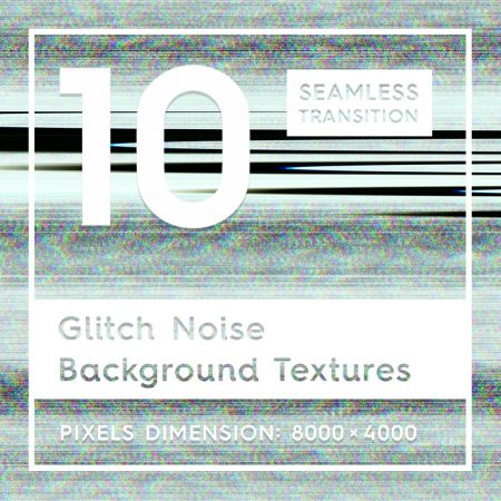 10 Glitch Noise Textures