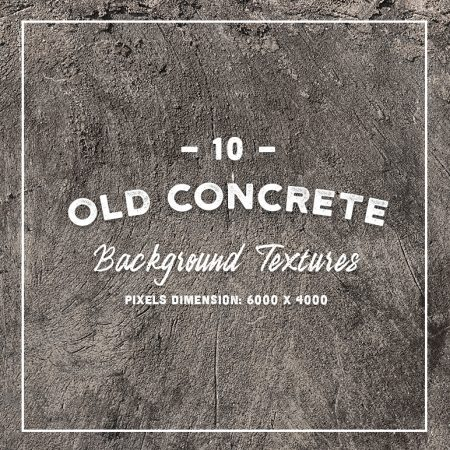 10 Original Old Concrete Textures