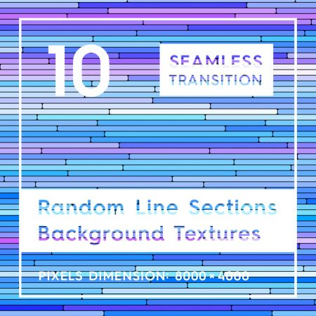 10 Random Line Sections Background Textures
