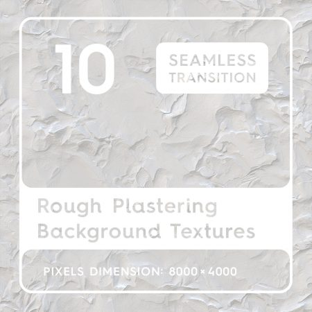 10 Rough Plastering Background Textures