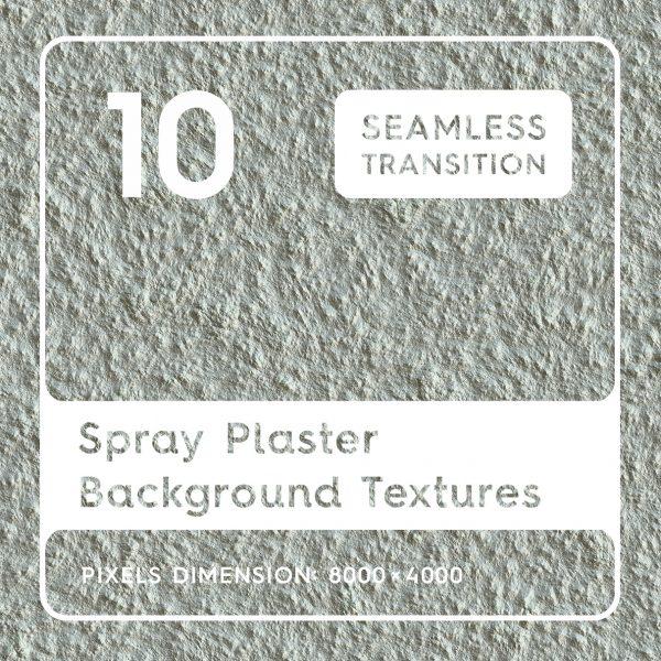 10 Spray Plaster Background Textures