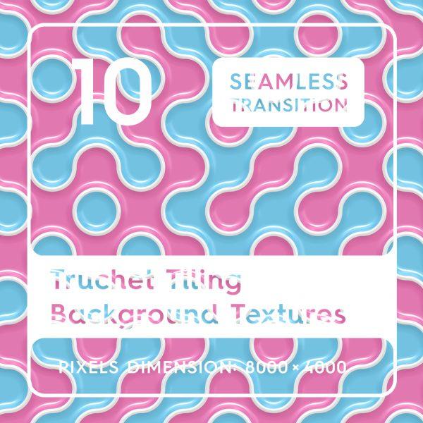 10 Truchet Tilling Background Textures