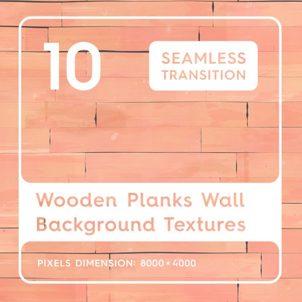 10 Wooden Planks Wall Background Textures