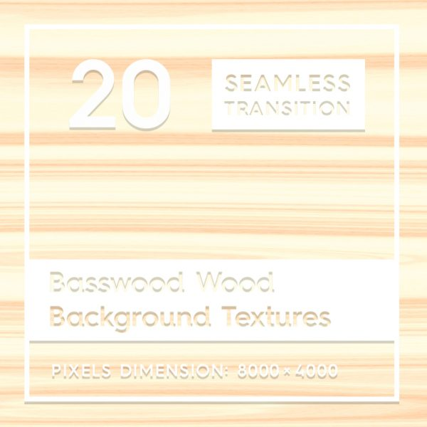 20 Basswood Wood Textures