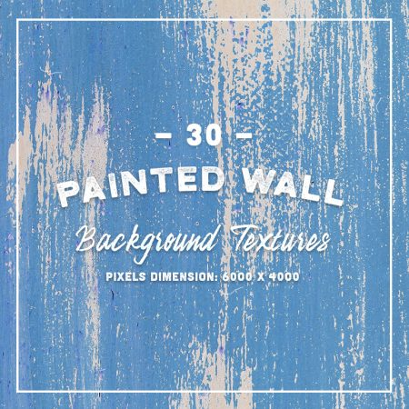 30 Painted Wall Textures