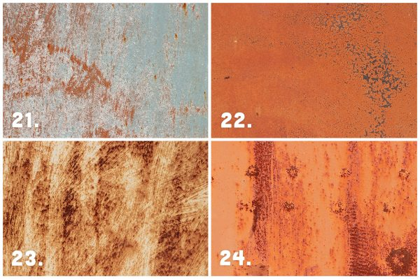 30 Rust Wall Texture Preview Set