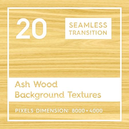 20 Ash Wood Textures