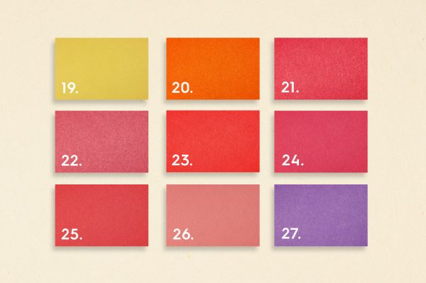50 Colored Paper Background Textures Preview Set