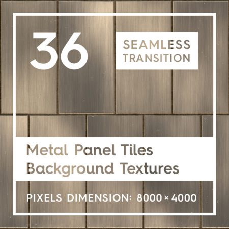 36 Metal Panel Tiles Backgrounds