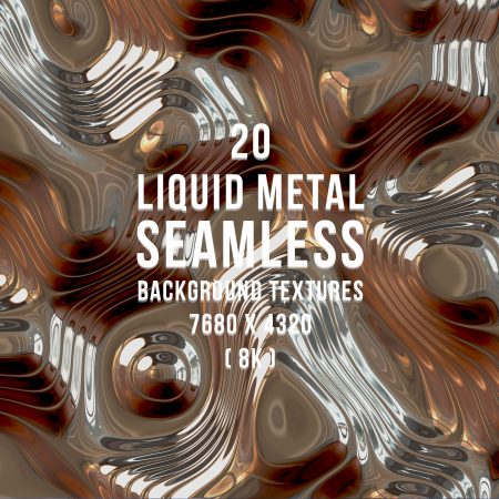 20 Liquid Metal Background