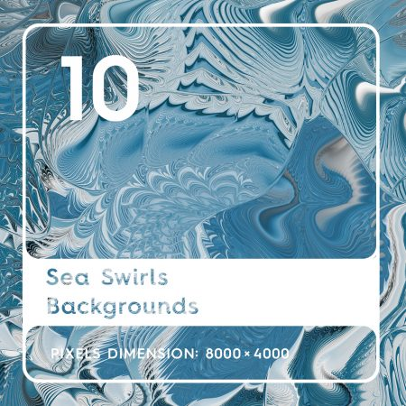 10 Sea Swirls Backgrounds