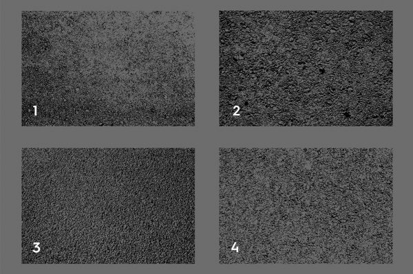 Asphalt & Road Texture Overlays Color Preview Set 1