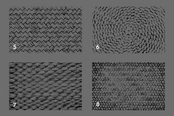 Wicker Rattan Texture Overlays Preview 2