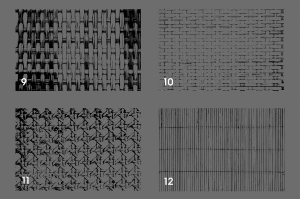 Wicker Rattan Texture Overlays Preview 3
