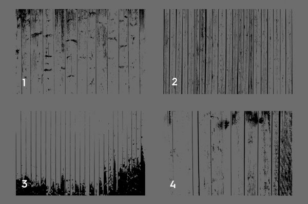 Wood Wall Textures Overlays Textures Preview Set 1