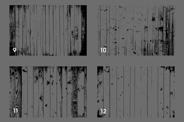 Wood Wall Textures Overlays Textures Preview Set 3
