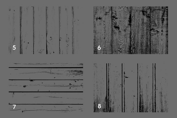 Wooden Planks Texture Overlays Preview Set 2