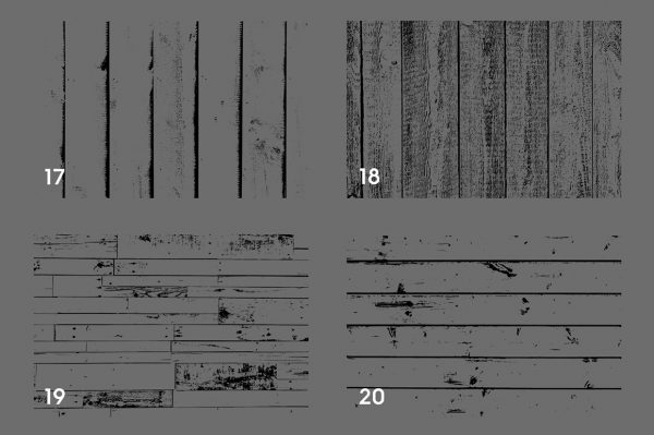 Wooden Planks Texture Overlays Preview Set 5