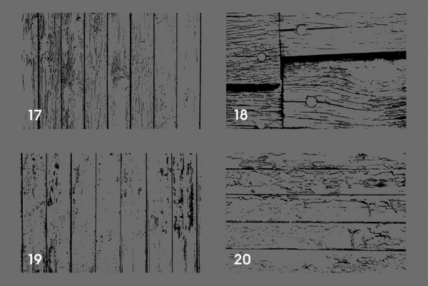 20 Weathered Wood Texture Overlays Preview 5
