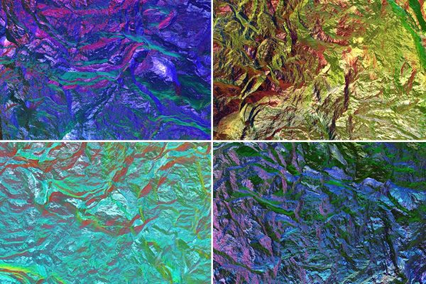 Chameleon Rock Texture Background Preview Set 4