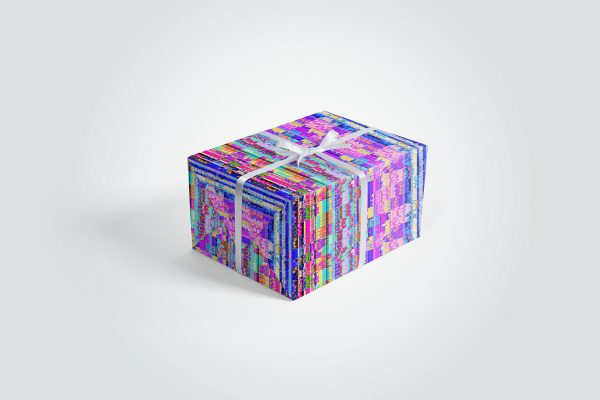 100 Distortion Background Textures Wrapping Paper Gift Box Usage Preview