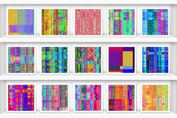 100 Distortion Background Textures Preview Set 4