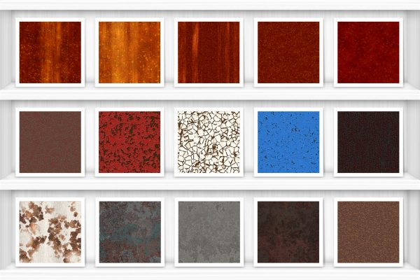50 Rust Background Textures Preview Set 2