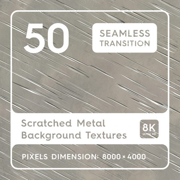 Scratched Metal Background Textures Square Preview