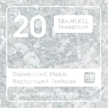20 Galvanized Metal Background Textures Preview Square