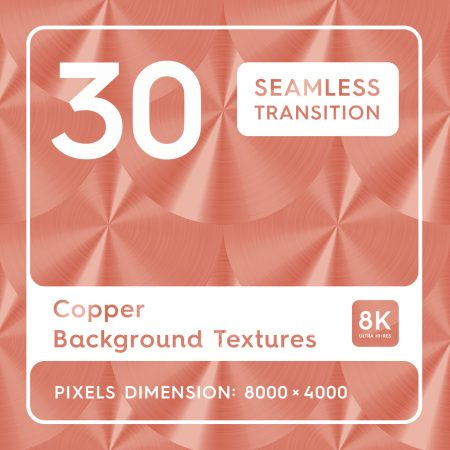 40 Copper Background Textures Square Header Preview