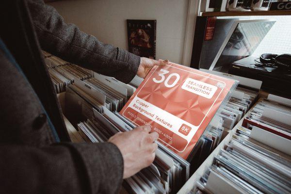 30 Copper Background Textures Music Shop Vinyl Choice Preview