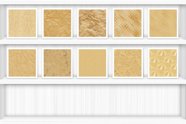 40 Brass Background Textures Samples Preview Shelves Set 3