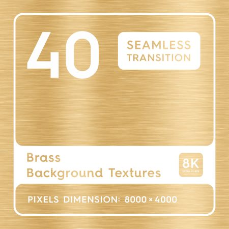 40 Brass Background Textures Square