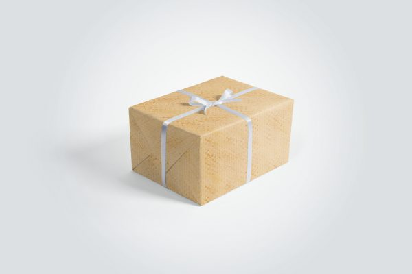 50 Gold Background Textures Gift Wrapper Box