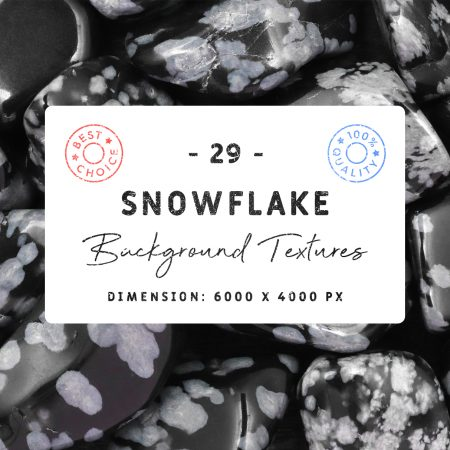 29 Snowflake Background Textures Cover