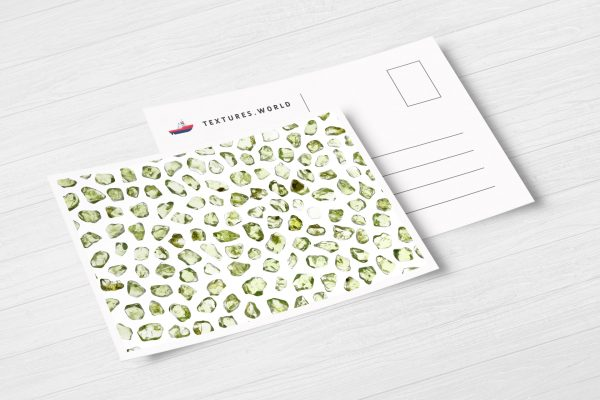 Postcard Olivine Background Textures Modern Poster Preview