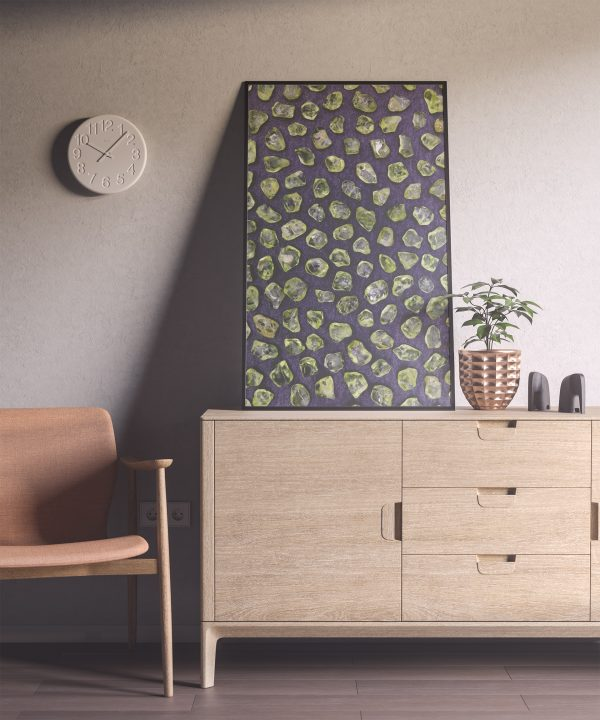 Entryway Olivine Background Textures Modern Poster Preview