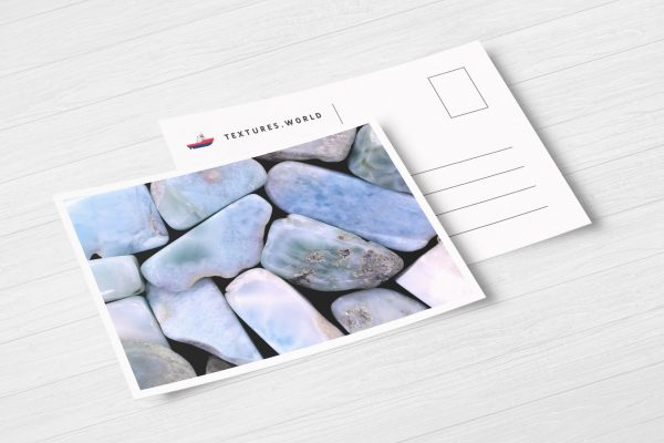 Postcard Larimar Background Textures Modern Poster Preview