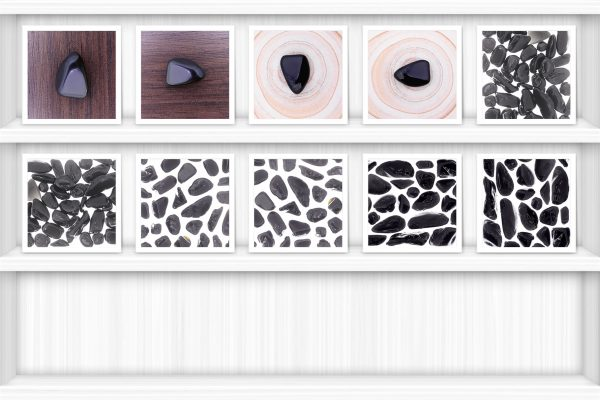 Black Tourmaline Background Textures Showcase Shelves Samples Preview