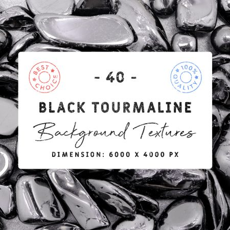 Black Tourmaline Background Textures Square Cover Preview