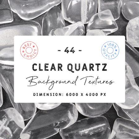 Clear Quartz Background Textures Square Cover Preview