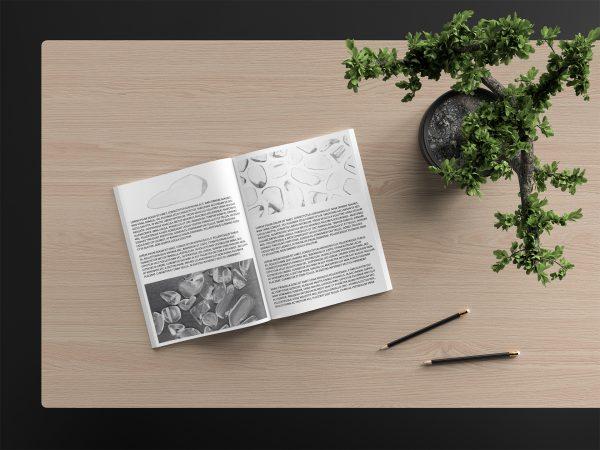 Clear Quartz Background Textures Modern Magazine Article Illustrations Preview