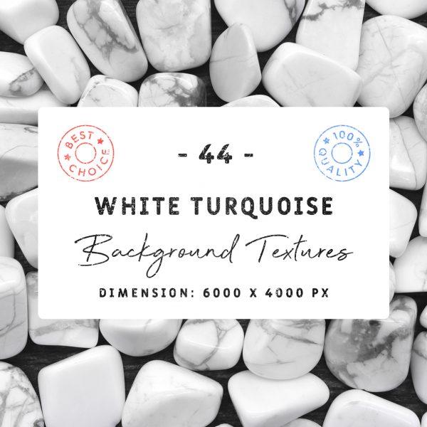 44 White Turquoise Background-Textures