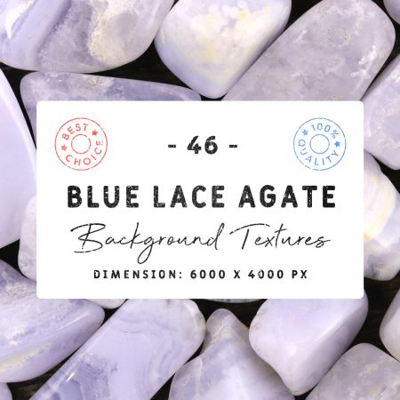 46 Blue Lace Agate Background Textures Cover