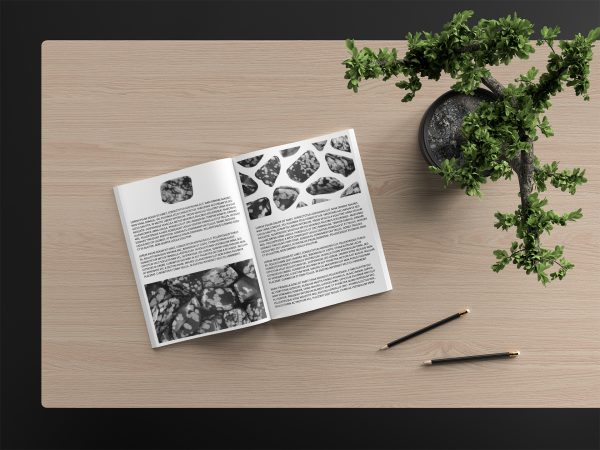 Snowflake Background Textures Magazine Article Preview