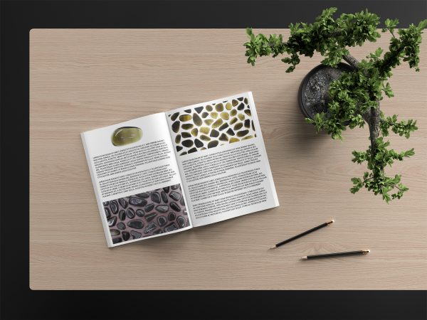 38 Gold Obsidian Background Textures Modern Catalog Magazine Article