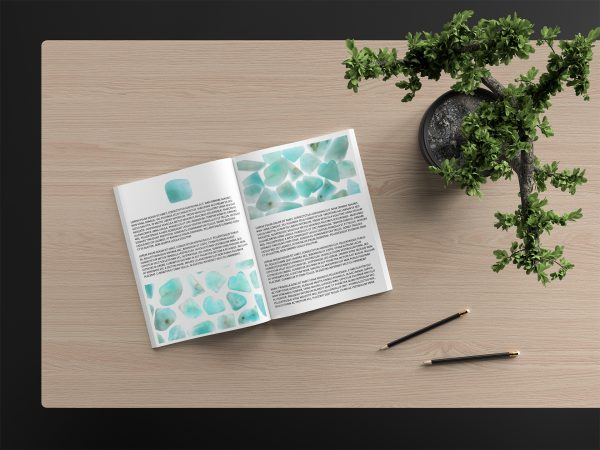 Amazonite Background Textures Book Article Preview