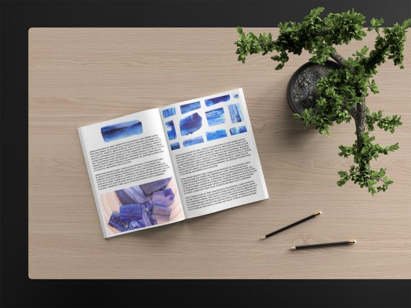 Kyanite Background Textures Modern Magazine Article Illustration Preview