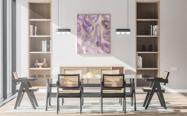 Kitchen Rutilated Amethyst Background Textures Modern Poster Preview